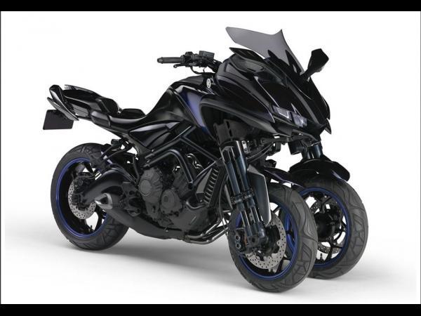 Yamaha lance la MTW-9 ! Une MT-09 à trois roues !!! 600x4510