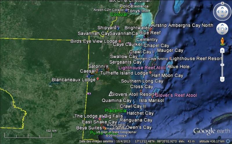 toutbox oscar_oskar : My KML KMZ Files Collecte Belize10