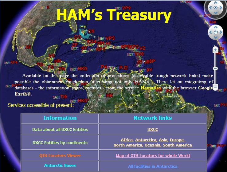 KML Files du HamAtlas Captur40