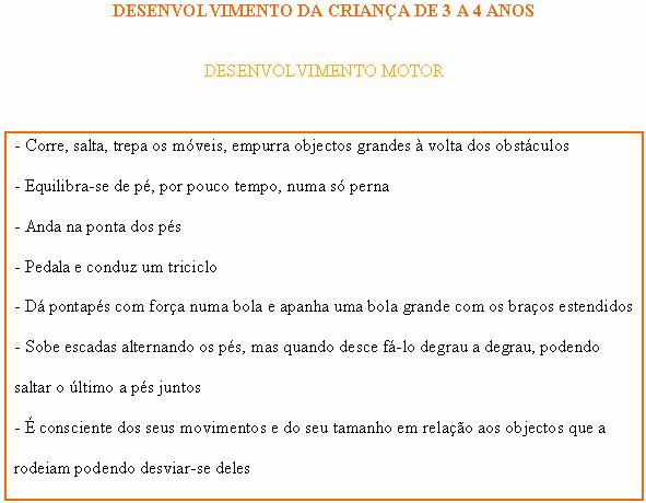 CRIANÇA DE 3 A 4 ANOS - DESENVOLVIMENTO MOTOR Motor_10