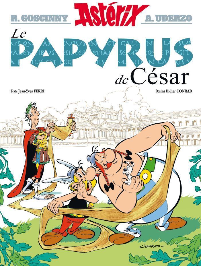 Nouvel album d'Astérix, le Papyrus de Cesar Asteri10