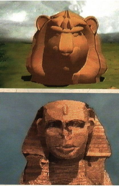 LES EGYPTIENS NE SONT PAS LES BATISSEURS DES PYRAMIDES   Lion10