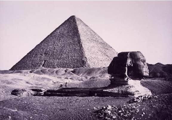 LES EGYPTIENS NE SONT PAS LES BATISSEURS DES PYRAMIDES   Sphinx13