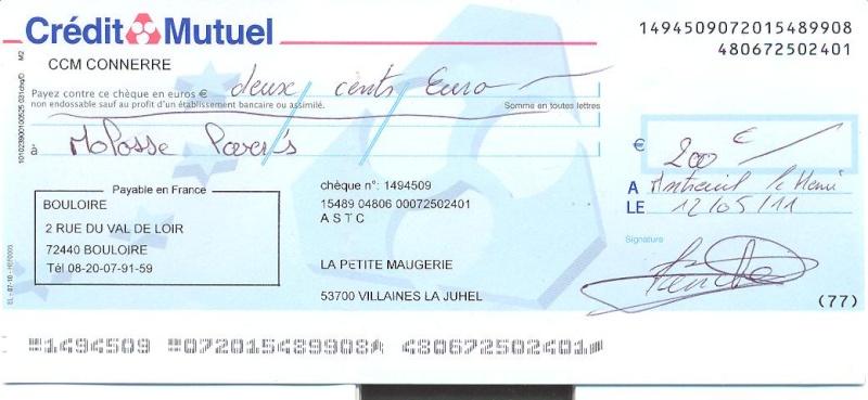OPERATION RUBAN BLANC PAR L ASTC ( American Staff terrier Club) Cheque10