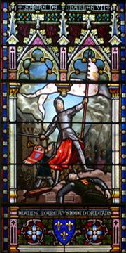 Vitraux Jeanne d'Arc  Begule10