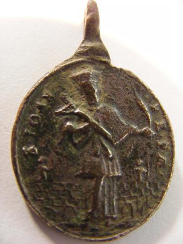 Médaille  Saint Juan Nepomuceno. XVII èm Downlo29