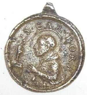 Médaille  ND-de-Lorette  & St-Charles-Borromée  - XVIIème Imgp4221