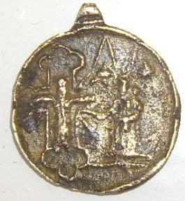 Médaille  ND-de-Lorette  & St-Charles-Borromée  - XVIIème Imgp4222