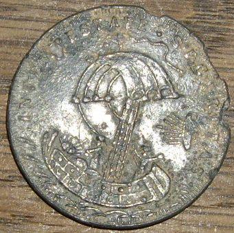 2 Médailles St-Georges / Jésus & 2 disciples en mer - XVIII ou XIXème Photo_30
