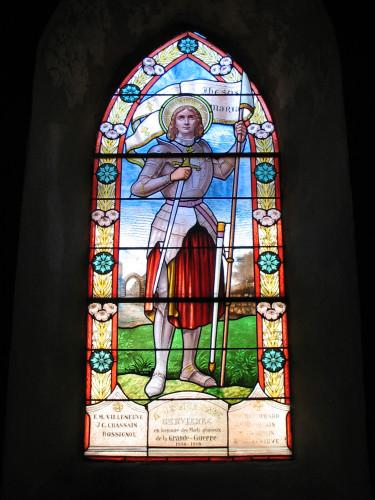 Vitraux Jeanne d'Arc  Vitrai11