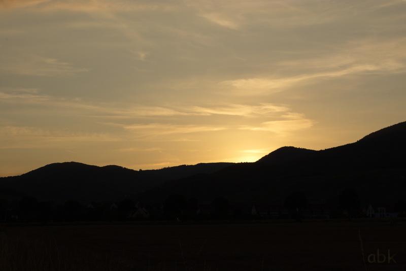 Coucher de Soleil sur les Vosges Couchy12