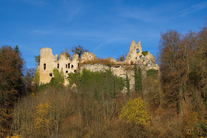 Oberlarg - Château de Morimont - Les Ebourbettes - Mannlefelsen Oberla10