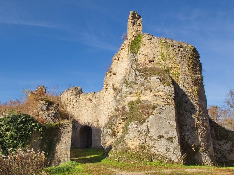 Oberlarg - Château de Morimont - Les Ebourbettes - Mannlefelsen Oberla11