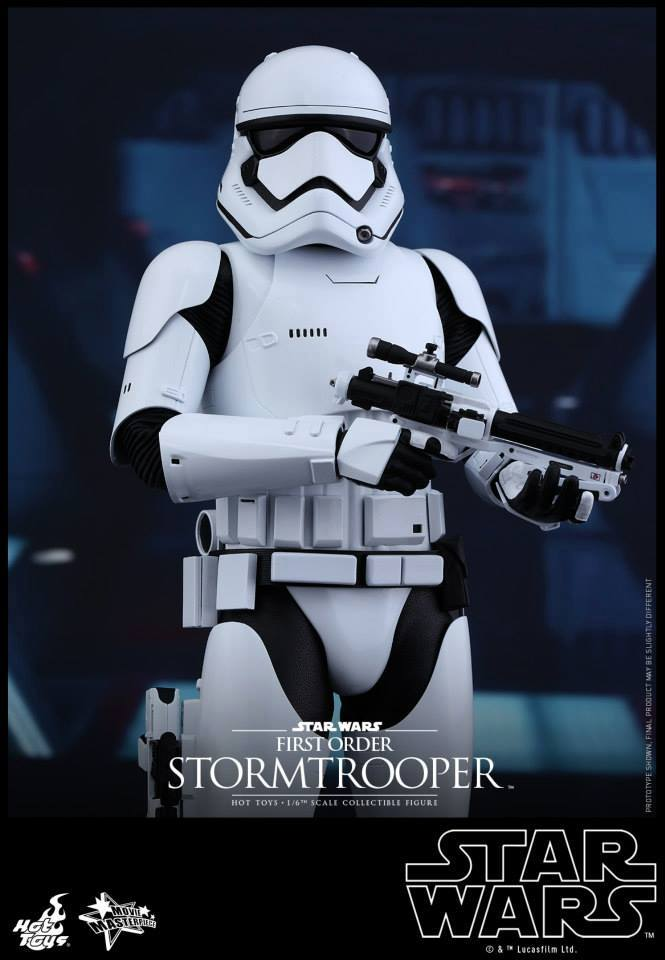 Hot Toys Star Wars The Force Awakens : Stormtrooper 1/6  10276910