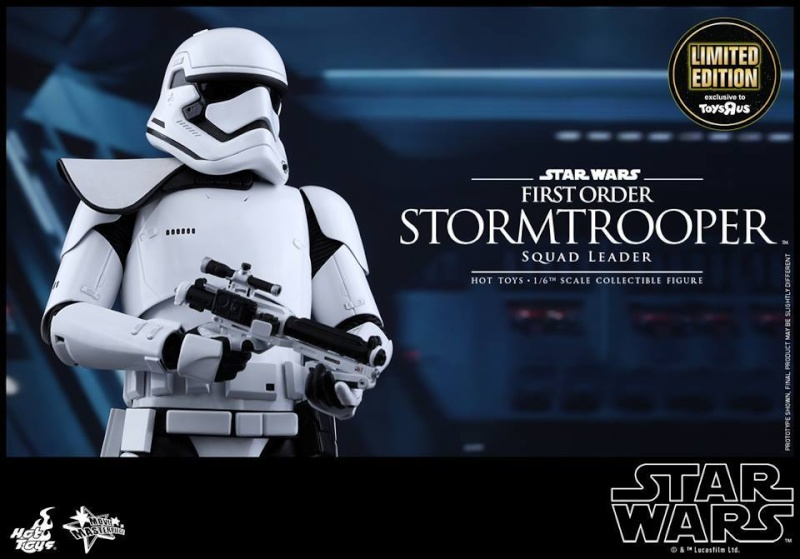 Hot Toys Star Wars First Order : Stormtrooper Squad Leader 10592610