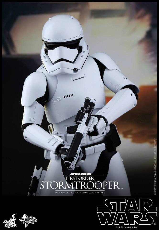 Hot Toys Star Wars The Force Awakens : Stormtrooper 1/6  11040810