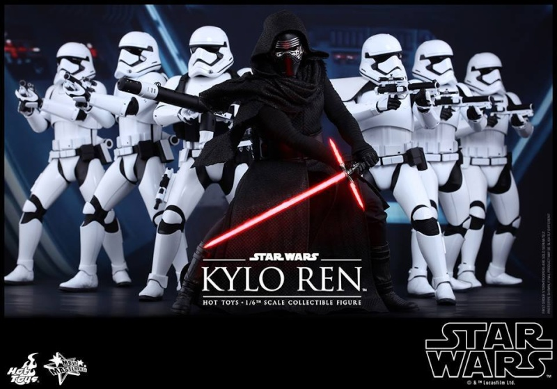 Hot Toys Star Wars The Force Awakens : Kylo Ren 1/6 11040910