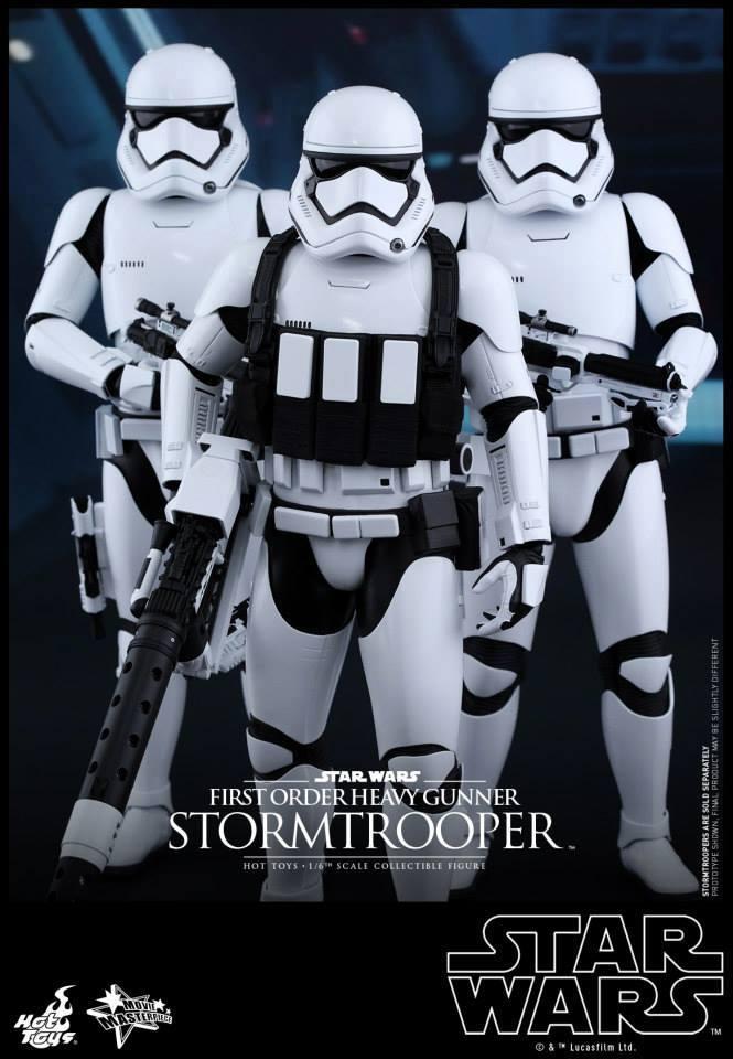 Hot Toys Star Wars  Heavy Gunner Stormtrooper 1/6  11223310
