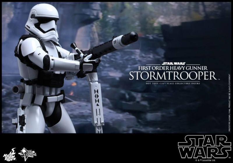 Hot Toys Star Wars  Heavy Gunner Stormtrooper 1/6  11899910