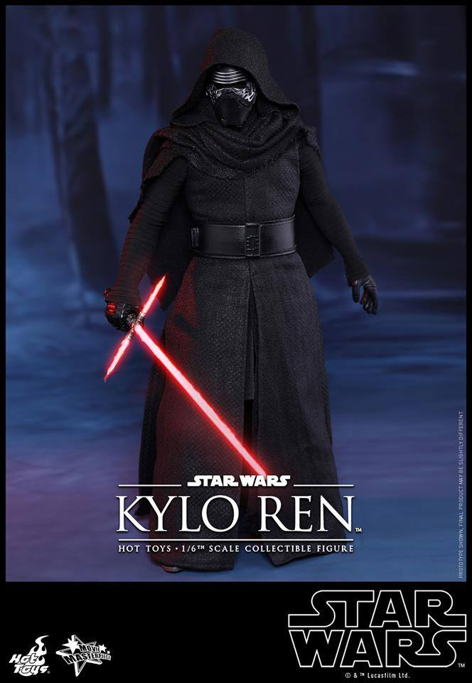 Hot Toys Star Wars The Force Awakens : Kylo Ren 1/6 11923610