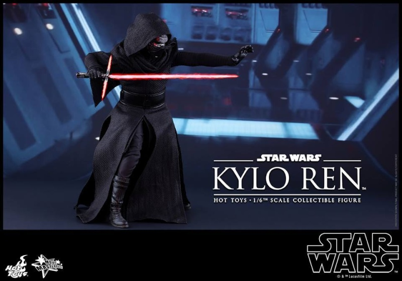Hot Toys Star Wars The Force Awakens : Kylo Ren 1/6 11933310