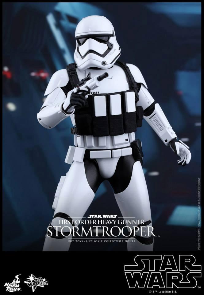 Hot Toys Star Wars  Heavy Gunner Stormtrooper 1/6  11937910