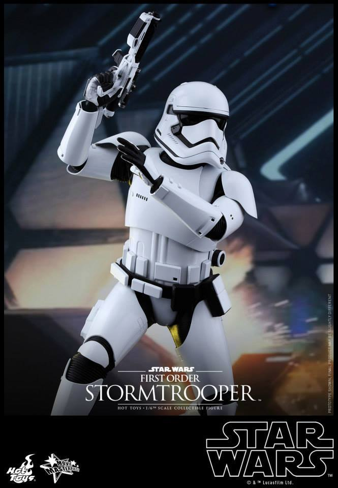 Hot Toys Star Wars The Force Awakens : Stormtrooper 1/6  11947410