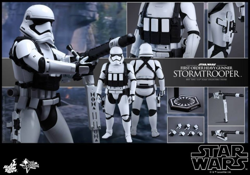 Hot Toys Star Wars  Heavy Gunner Stormtrooper 1/6  11951311