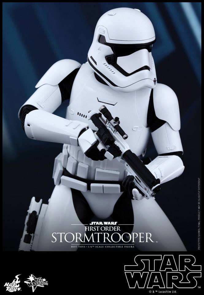 Hot Toys Star Wars The Force Awakens : Stormtrooper 1/6  11951710