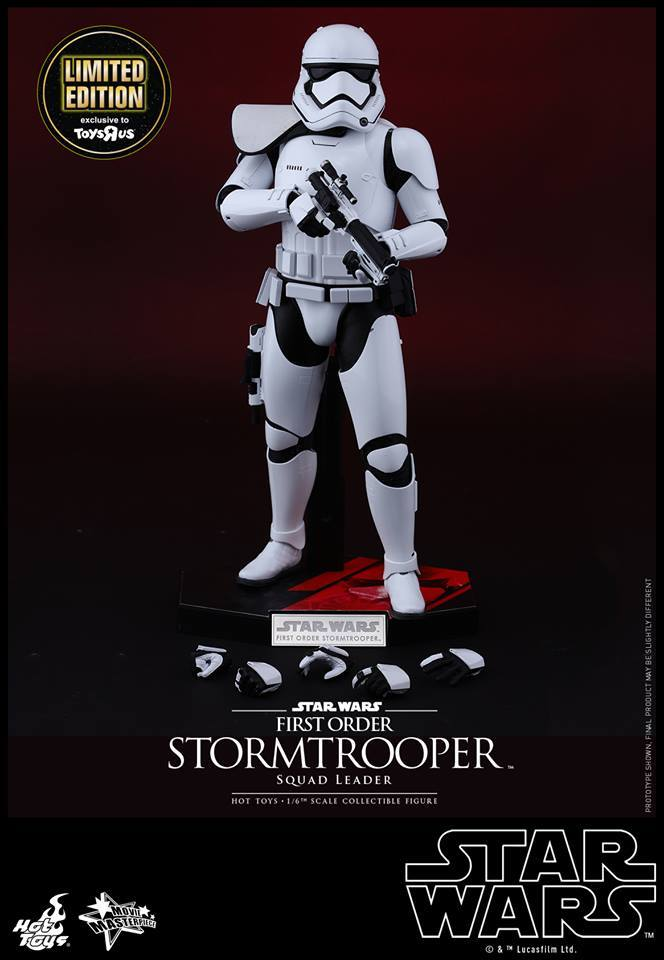 Hot Toys Star Wars First Order : Stormtrooper Squad Leader 11954510