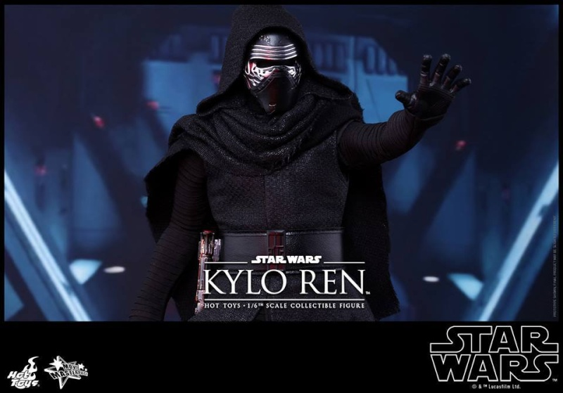 Hot Toys Star Wars The Force Awakens : Kylo Ren 1/6 11986510