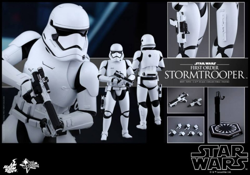 Hot Toys Star Wars The Force Awakens : Stormtrooper 1/6  11988310