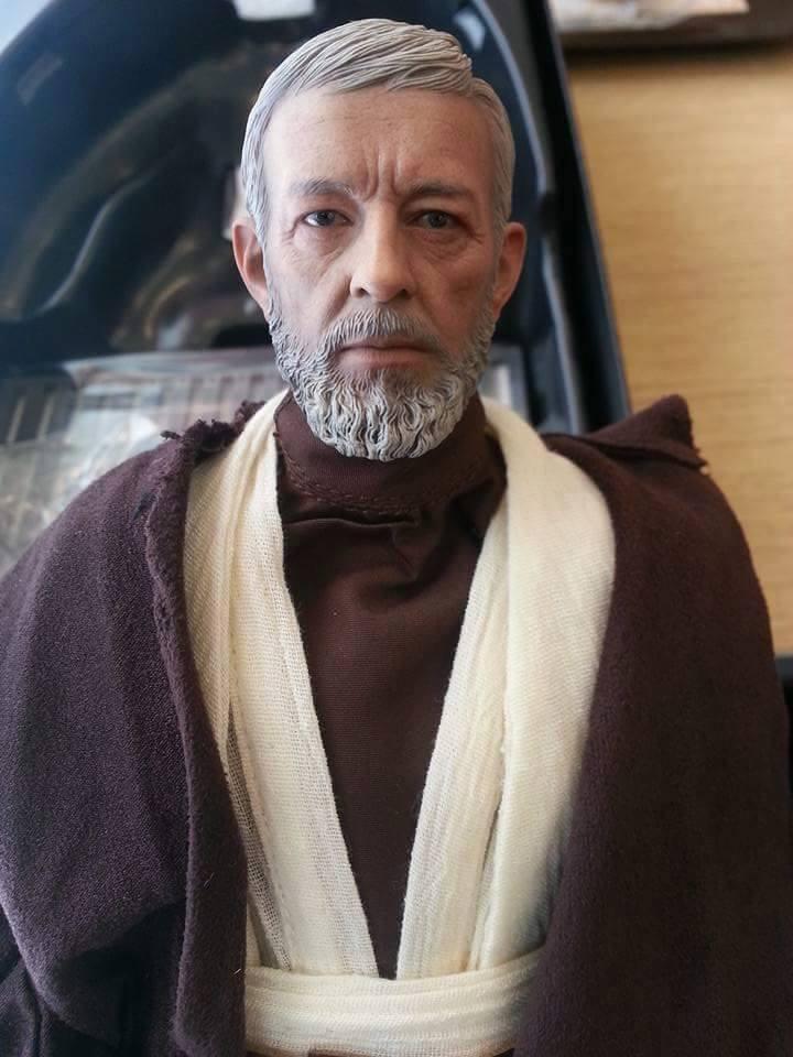 Hot Toys Star Wars ANH 1/6th Obi Wan Kenobi Figure 12003410