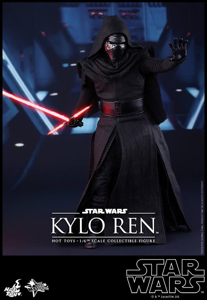 Hot Toys Star Wars The Force Awakens : Kylo Ren 1/6 13823210