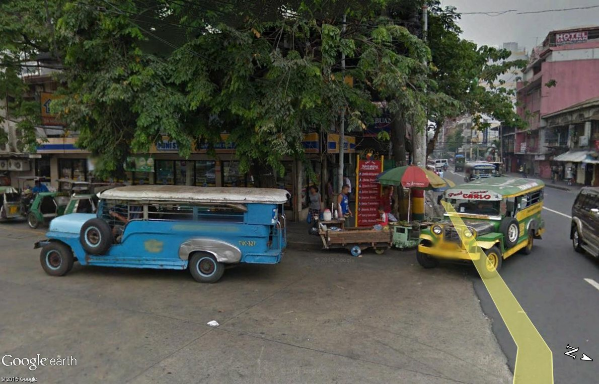 STREET VIEW : à la découverte des Jeepneys - Philippines Jeep10
