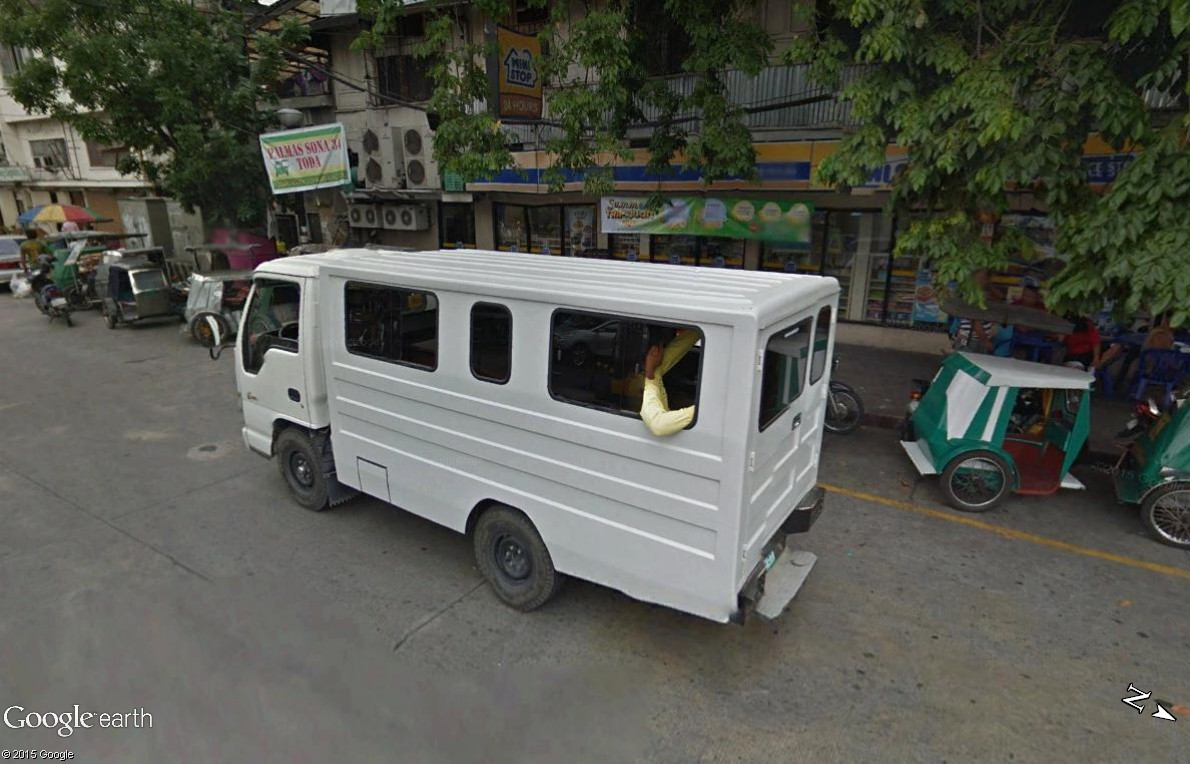 STREET VIEW : à la découverte des Jeepneys - Philippines Jeep_210
