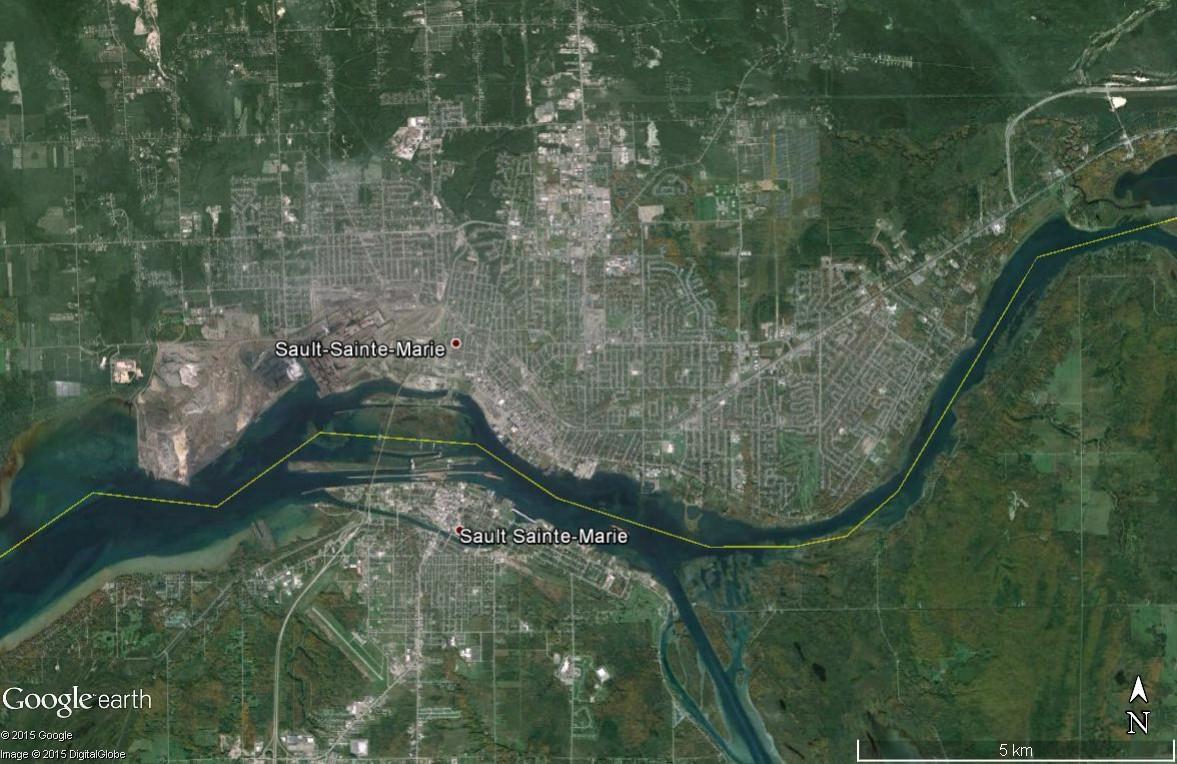 Les villes à cheval sur une frontière Sault_11
