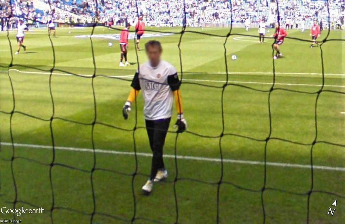 Google Maps s'invite au match de foot entre Manchester City et Manchester United Tomasz10