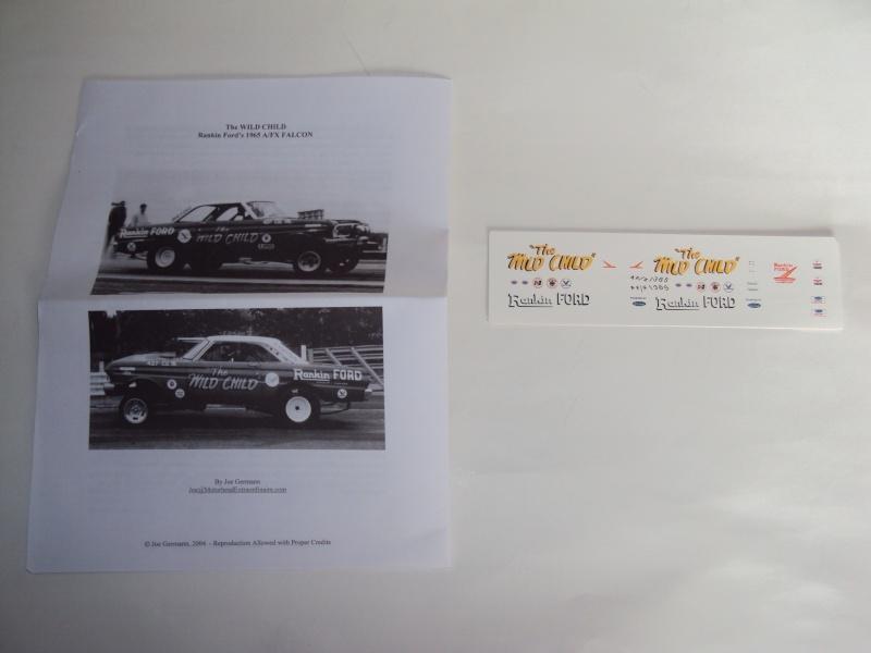"""#11 : Ford Falcon dragster """"the Wild Child"""" [TERMINE] Dsc00121"""