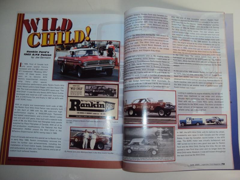 """#11 : Ford Falcon dragster """"the Wild Child"""" [TERMINE] Dsc00123"""