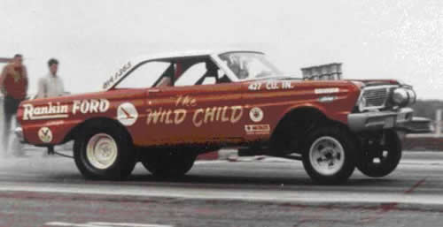 "#11 : Ford Falcon dragster ""the Wild Child"" [TERMINE] Wildch11"