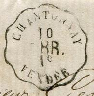 Les cachets des courriers convoyeurs lignes 1876-010