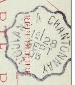 Les cachets des courriers convoyeurs lignes 1905-010