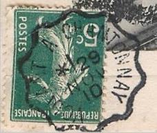 Les cachets des courriers convoyeurs lignes 1910-110