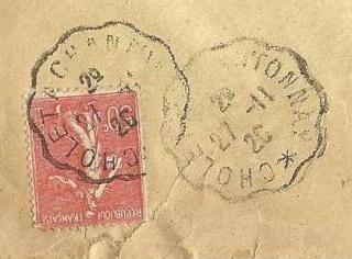 Les cachets des courriers convoyeurs lignes 1926-110