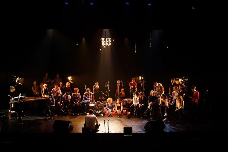 Concert des Funambules au 20ème Théâtre (2014) 20141010