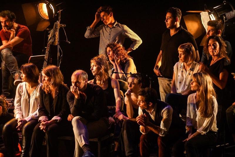 Concert des Funambules au 20ème Théâtre (2014) 20141011