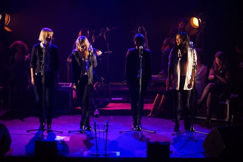 Concert des Funambules au 20ème Théâtre (2014) 20141013
