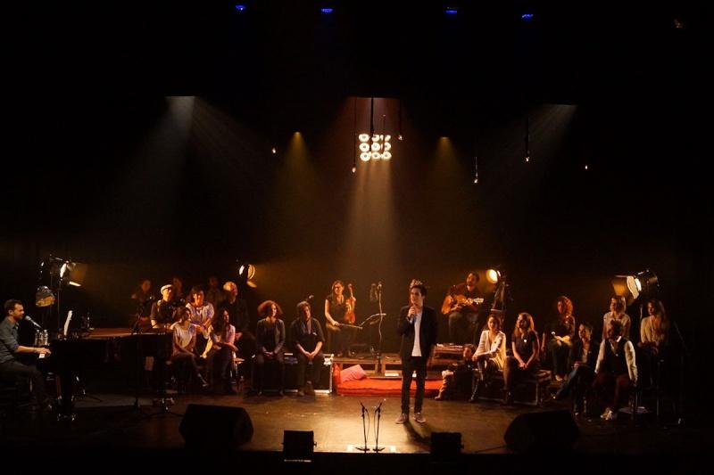 Concert des Funambules au 20ème Théâtre (2014) 20141014