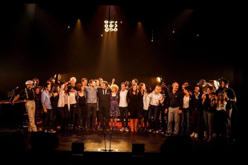 Concert des Funambules au 20ème Théâtre (2014) 20141015